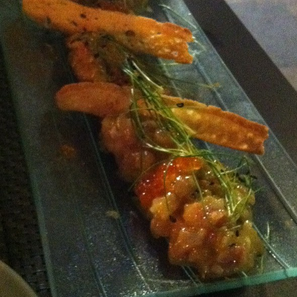 Tataki De Dorada Con Lima Y Curri @ nu Restaurant