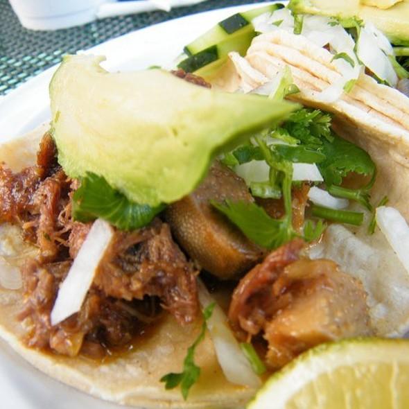 Tacos @ Taquería Distrito Federal