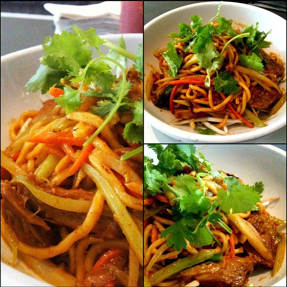 Curry Duck Noodles @ Republic Restaurant