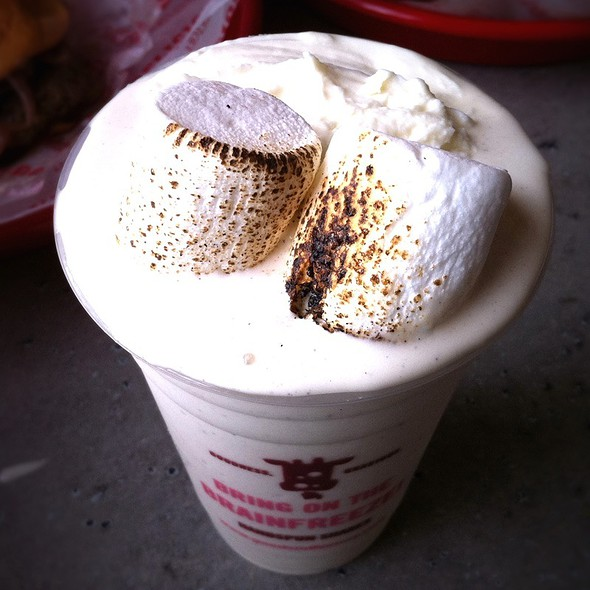 Toasted Marshmallow Milkshake @ Good Stuff Eatery