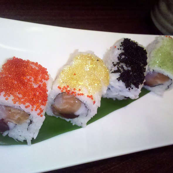 Four Season Roll @ Moca Asian Bistro