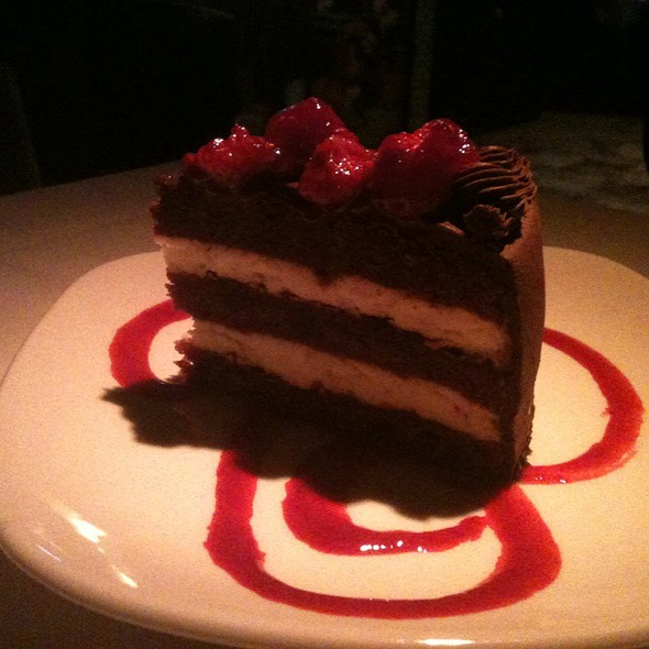 Chocolate Raspberry Truffle Torte @ The Chop House