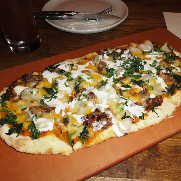 Goat Masala Pizza @ The Girl And The Goat