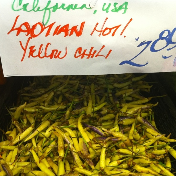 Laotian Yellow Chili @ Berkeley Bowl West