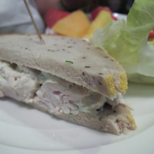 Chicken Salad Sandwich @ Katella Deli-Restaurant