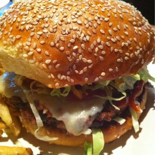 Veggie Burger @ Hillstone Restaurant Group Inc