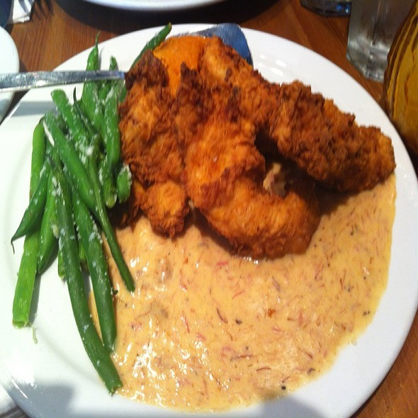 Buttermilk Fried Chicken Plate @ Angeline's Louisiana Kitchen