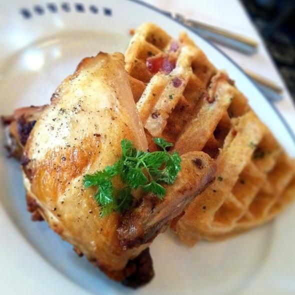 Chicken & Waffles @ Bouchon