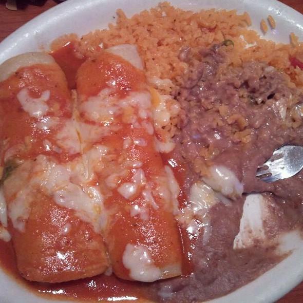 Chicken Enchiladas @ El Paso Mexican Grill