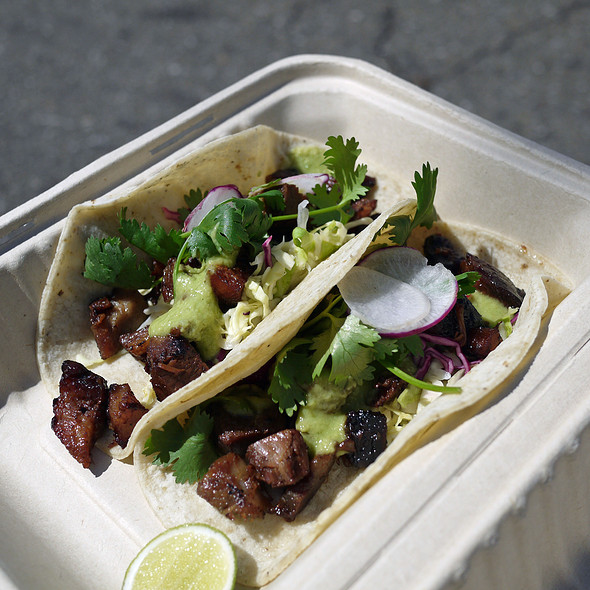 Sisig Tacos @ Hapa SF