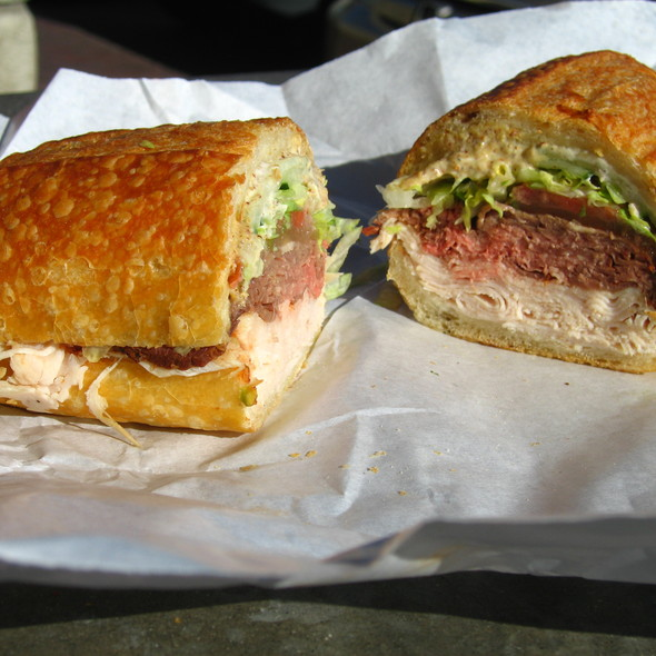 Italian Sandwich @ Bay Cities Italian Deli
