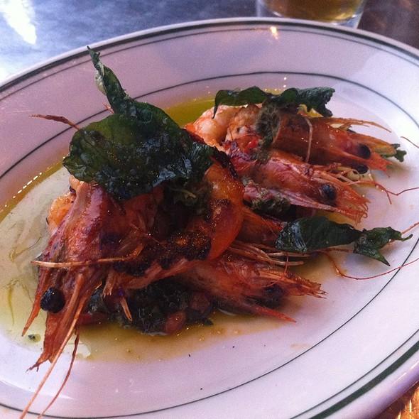 Shrimp @ Pizzeria Delfina