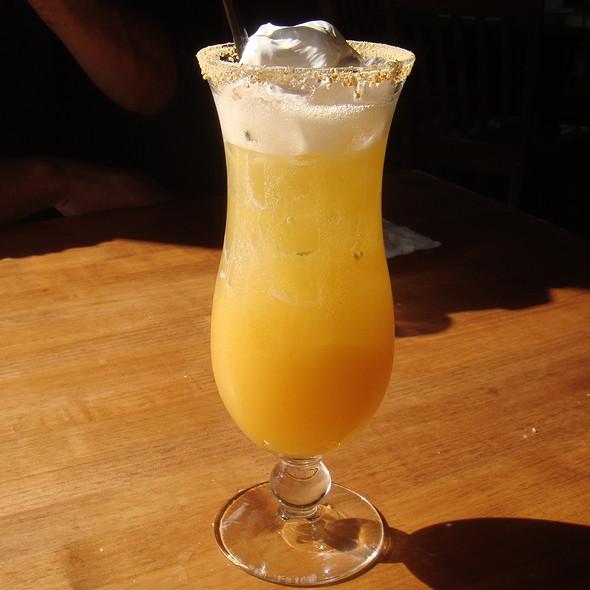 Peach Cream Cocktail - Gladstone's Long Beach, Long Beach, CA