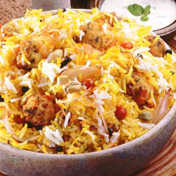 Beef Biryani @ NM Fast Food