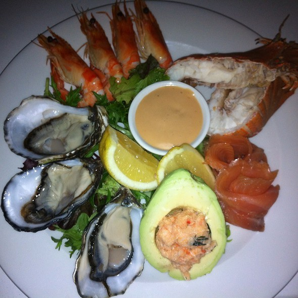 Seafood Plate @ Blue Fish