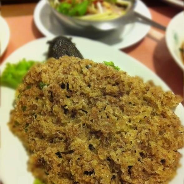 Fluffy Cat Fish With Mango Dip @ New Light Chinese Restaurant