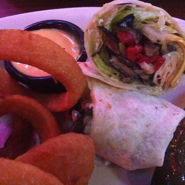 Skinny Girl Wrapwith Onion Rings - Joe's on Juniper, Atlanta, GA