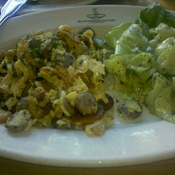 Scramble With Sausage And Bacon @ Suppenküche