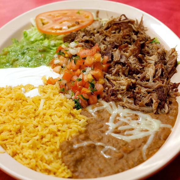 Carnitas Plate @ Los Cabos Grill