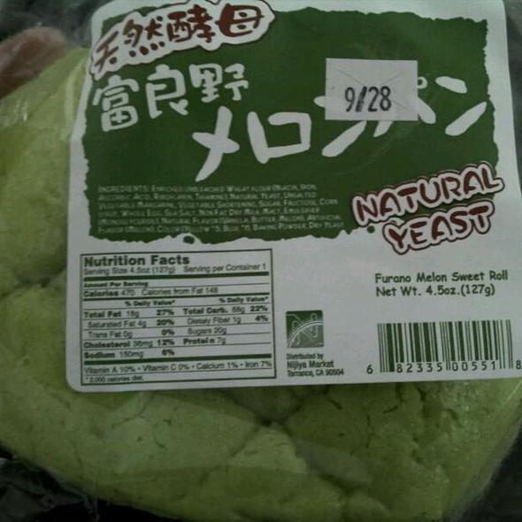 Cantaloupe Sweet Roll @ Nijiya Market