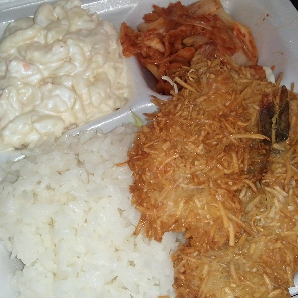 Coconut Fried Shrimp @ Andy's Kahuku Shrimp