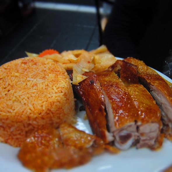 Crispy Chicken and Tomato Rice