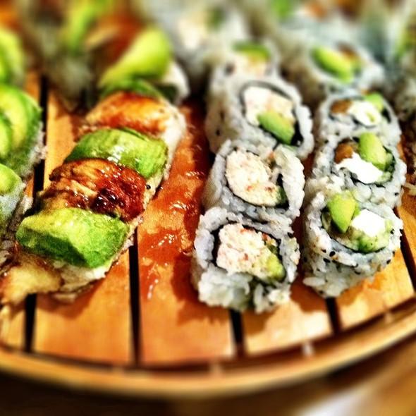 Various Sushi Rolls @ Yo Sushi