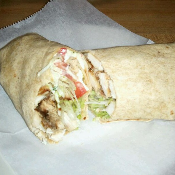 Pompei Wrap @ Pompei Pizza