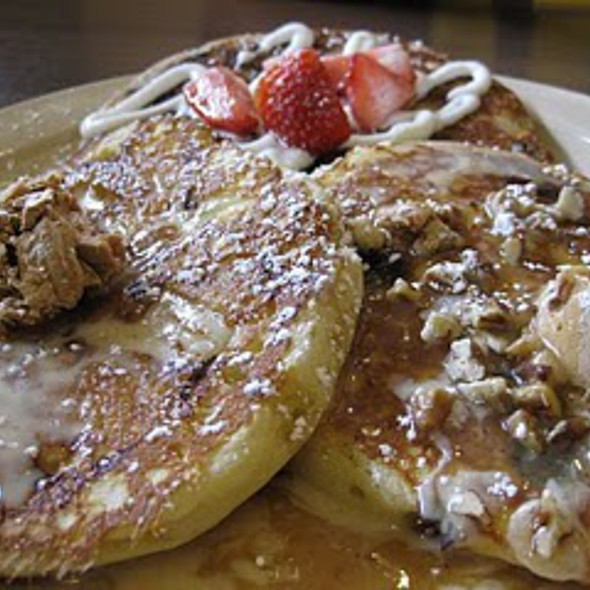 Pancake Flight @ Snooze am eatery