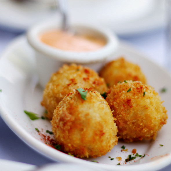 Jamon Serrano and Cheddar Cheese Croquettes