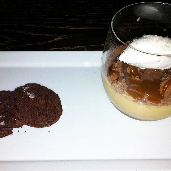 Vanilla Caramel Budino at Scarpetta Beverly Hills