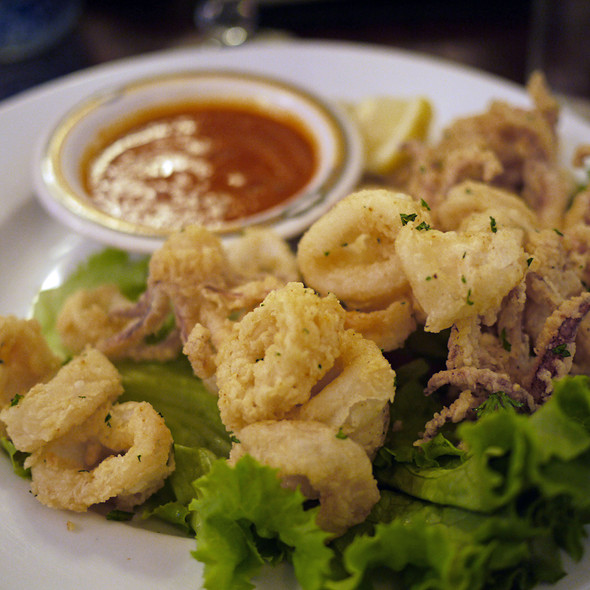 Calamari - Arya Global Cuisine, Cupertino, CA