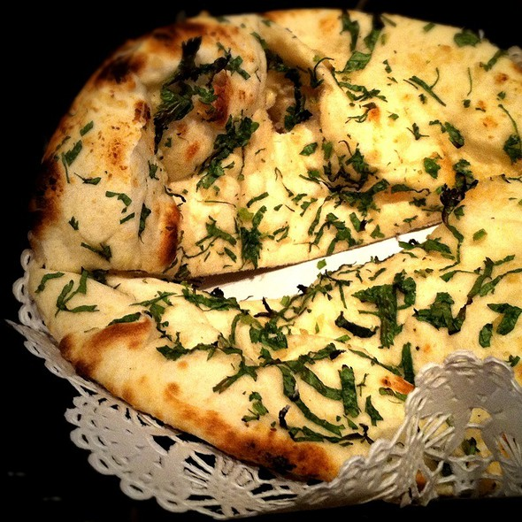 Garlic Naan With Herbs - Rasika, Washington, DC