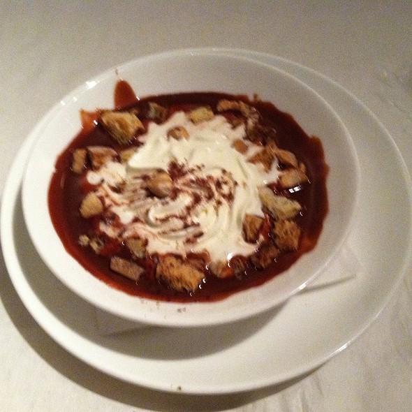Zuppa Al Cioccolato @ Sotto Sotto Restaurant