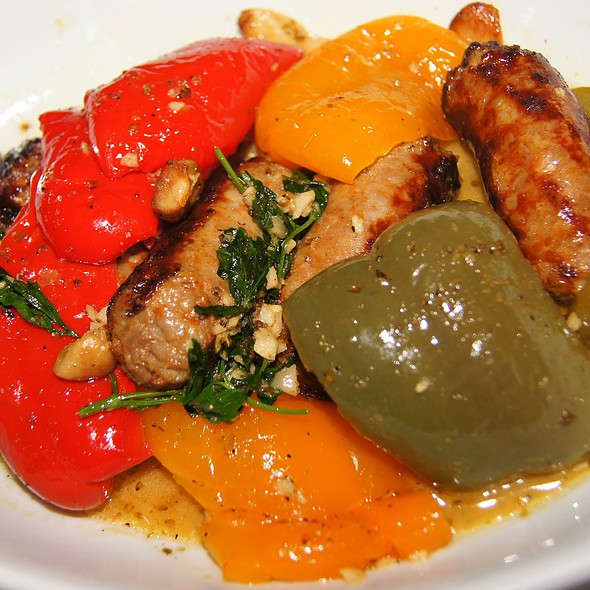 Italian Sausage And Peppers - The Rosebud, Chicago, IL
