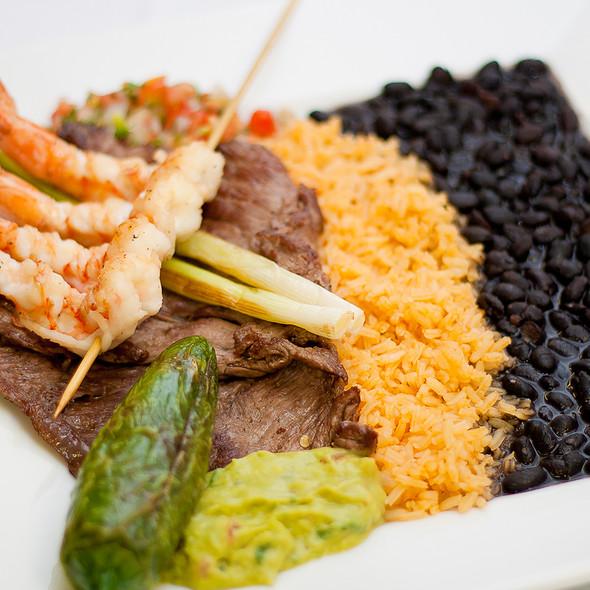 Shrimp And Steak @ Casa Del Mar