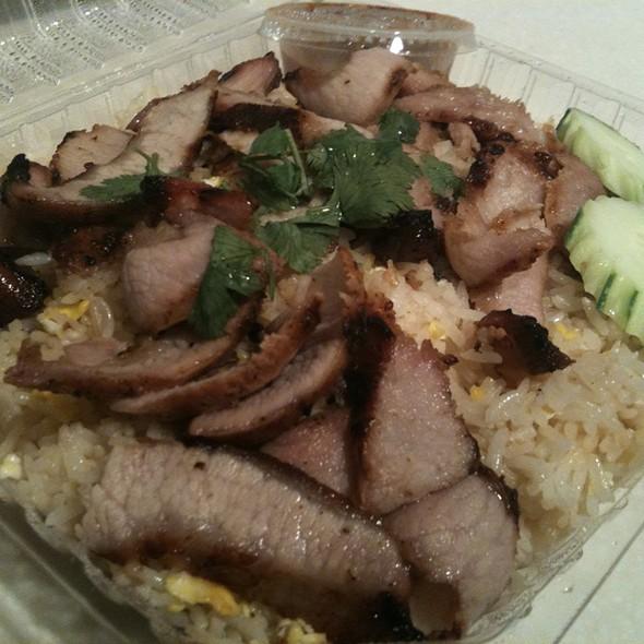 Pork shoulder fried rice @ Sai Jai Thai Restaurant