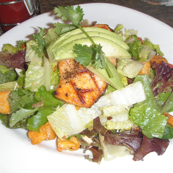 Salmon Cobb Salad @ Squat And Gobble