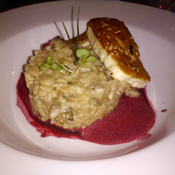 mushroom risotto with halloumi cheese @ Bar Corso