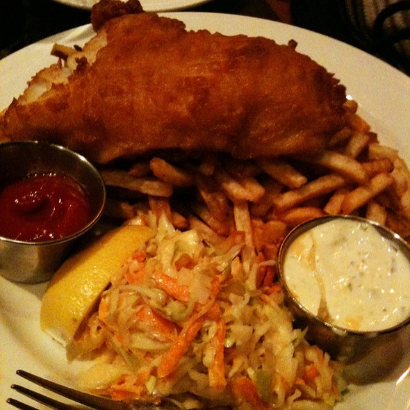 Fish and Chips - Grafton Street Pub and Grill, Cambridge, MA