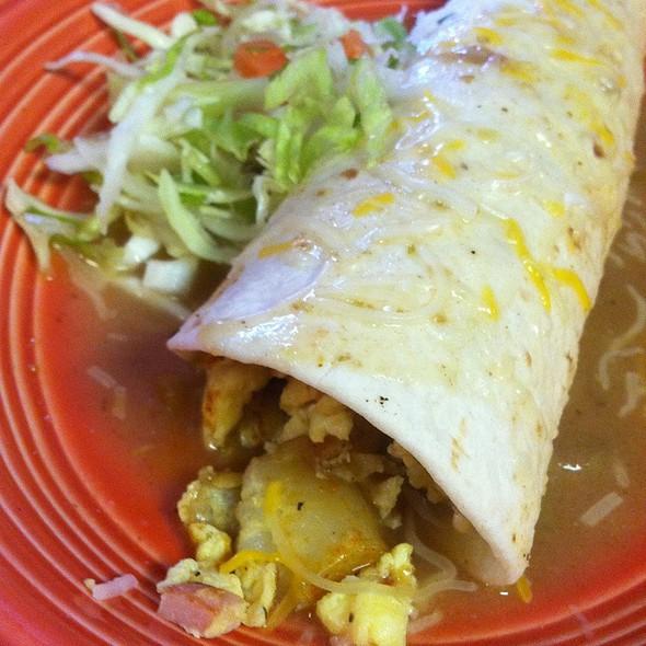 Breakfast Burrito @ Cisco's American Breakfast And Mexican Cuisine