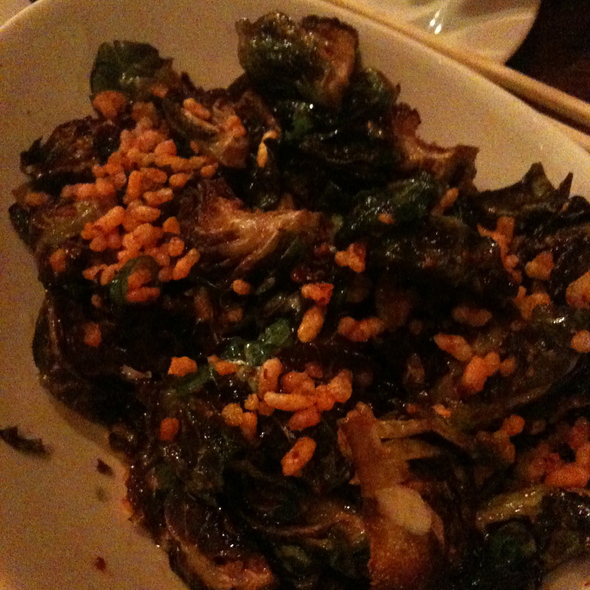 Fried Brussels Sprouts @ Momofuku Ssam Bar