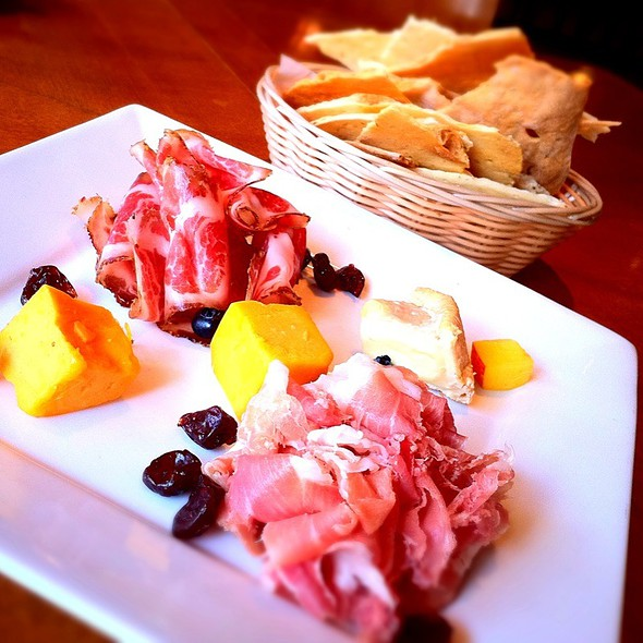 Artisan Cheese & Cured Meat Plate @ Food Dance