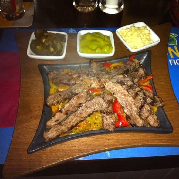 beef fajitas @ The North Shield