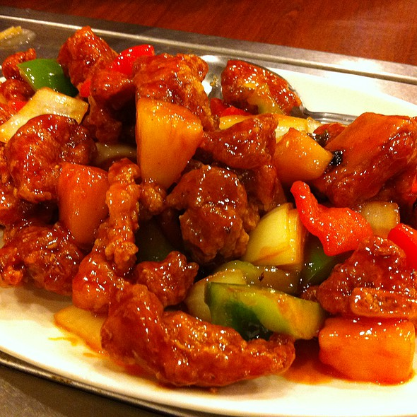 Sweet And Sour Spare Ribs @ Bo Bo Garden