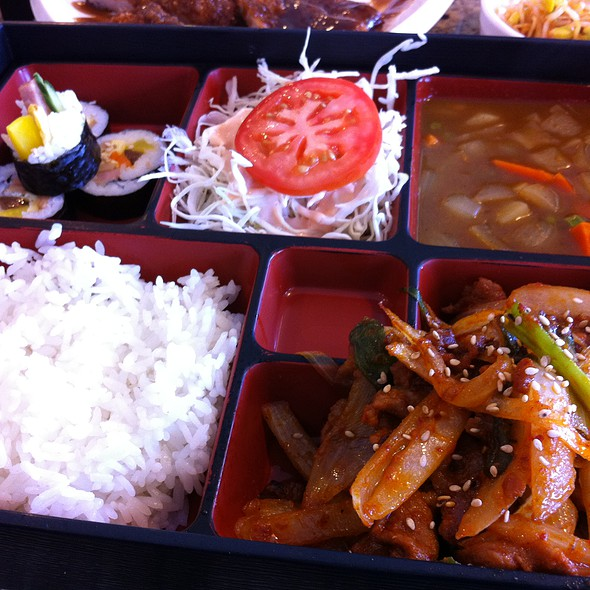 bento box @ Don Quixote