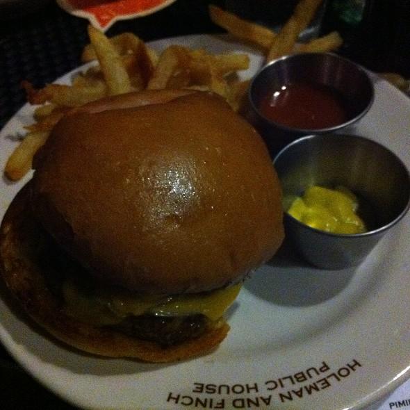 Hamburger @ Holeman & Finch Public House
