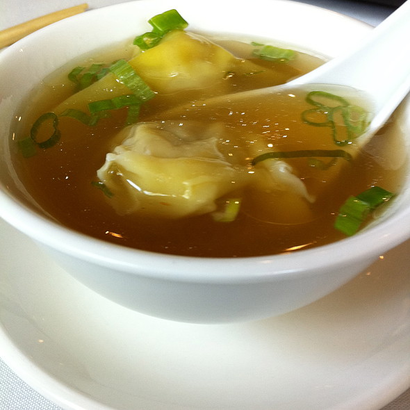Wonton Soup @ Peter Chang's Tasty China II