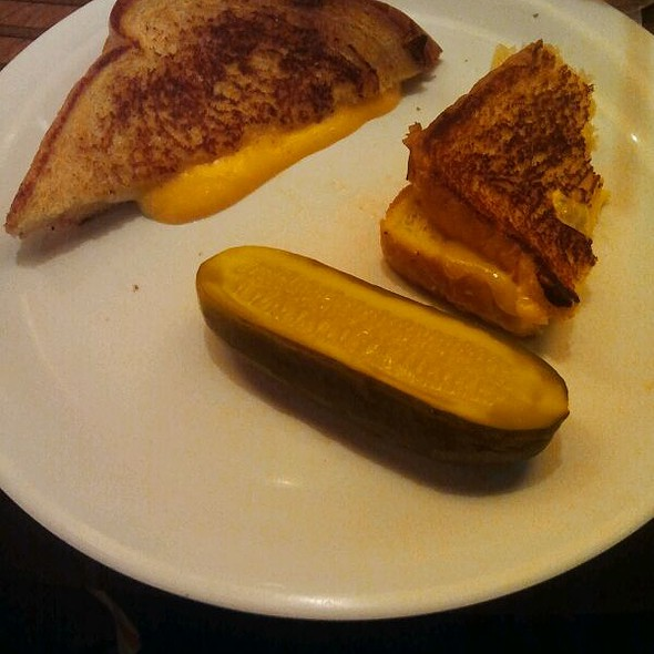 Grilled Cheese Sandwich @ Bobby's Burger Palace