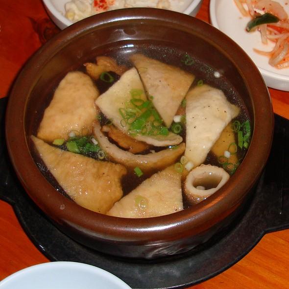 Fish Cake Soup @ Little Seoul